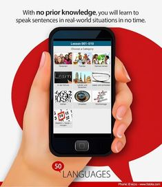 Learn 50 languages for free using your native language!<p>50languages.com contains 100 lessons that provide you with a basic vocabulary. This free app has 30 lessons. With no prior knowledge, you will learn to fluently speak short sentences in real-world situations in no time. <p>The 50languages method successfully combines audio and text for effective language learning.<p>50languages corresponds to the Common European Framework levels A1 and A2 and is therefore suitable for all types of…