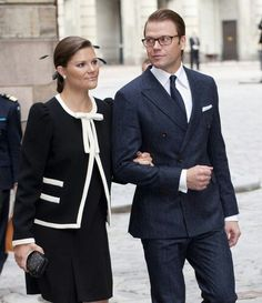 Crown Princess Victoria & Prince Daniel of Sweden