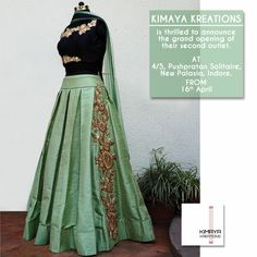 Top collection of Green Lehengas at Mirraw. Indian Attire, Indian Wear, Indian Outfits, Indian Gowns Dresses, Pakistani Dresses, India Fashion, Ethnic Fashion, Indian Look, Desi Wear