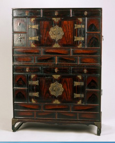 Korean traditional antique furniture... Asian things would not  have been unknown  in the homes of whaling captains...