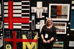 Monique Lacey - SAW artist NZ Art Show 2013 Artist Wall, Nz Art, Photo Wall, Artists, Abstract, Frame, Decor, Summary, Picture Frame