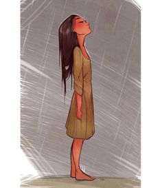 in the storm girl illustration inspiration. Going to sketch :) Standing In The Rain, Girl Standing, Character Inspiration, Character Art, Story Inspiration, Writing Inspiration, Creative Inspiration, Art Sketches, Art Drawings