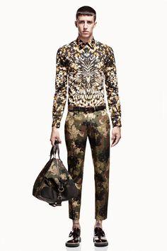 Alexander McQueen 2013 Man Collection