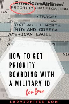 How To Get Priority Boarding with Your Military ID Traveling soon, Milspo? Make sure you're getting your Priority boarding pass. Military Retirement, Military Love, Military Spouse, Military Brat, Military Quotes, Military Families, Military Campgrounds, Airforce Wife, Usmc