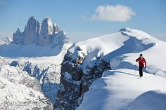 Dolomites, Italy - skiing, or anywhere else. Great passtime!