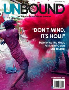 For my Final Magazine Project at NYU's Summer Publishing Institute, I (with Ashleigh DePetro) designed a sample cover for my group's travel magazine - UNBOUND. We used Adobe InDesign. Photo credit: Kate Bellm.