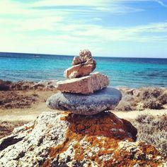 Rock balance  Land Art