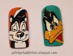 Polish Art Addict: Looney Tunes