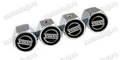 Комплект декоративных ниппельных колпачков Вольво, изготовлены из металла с черной наклейкой эмблемы Volvo. Продаются в комплекте из 4 колпачков Вольво. Доставка в любой регион России, подробнее на сайте интернет магазина snstuning.ru