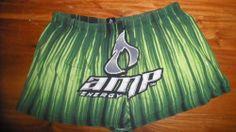 AMP Energy Drink Themed Men's Boxer Shorts Sleep Wear Men's Size X-Large (40-42)