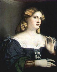 Venice, The Republic of Venice Palma Vecchio, 1520s: Woman In Blue Vienna, Kunsthistorisches Museum