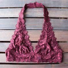 4d7e8bbc7aea3 intimate semi-sheer halter lace bralette (7 colors) - shophearts - 3 Lace