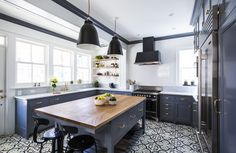 Before and After: A White-and-Gray Kitchen Renovation Photos | Architectural Digest