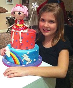 Make a Lalaloopsy Cake Topper With Modeling Chocolate
