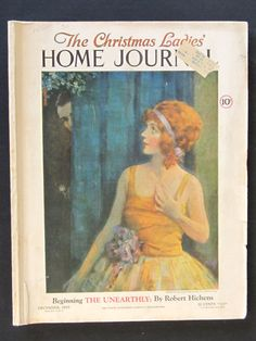Vintage Ladies Home Journal Christmas c1925 by myabbiesattic, $50.00