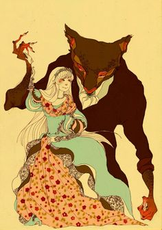Beauty and the Beast by *faQy on deviantART