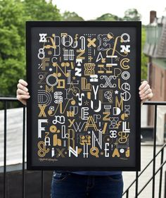 Design Envy · Letters Poster: Ross Moody and Richard Perez