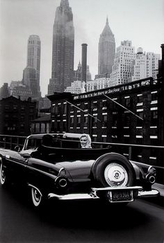"History Lovers Club on Twitter: ""Mаrilyn Monroe cruising NYC in a new 1956 Ford Thunderbird.… """