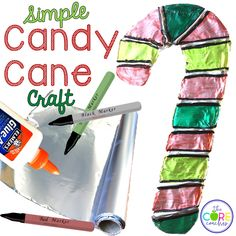 Make a candy cane fr