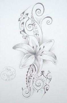 tatouage tahitien femme modele - Recherche Google