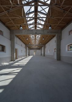 Built by 3+1 architekti in Ústí nad Labem, Czech Republic with date 2014. Images by Pavel Plánička. The building of the former stables is part of the farming complex founded around 1870. Size and location of the build...