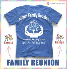 family reunion t shirt ideas create your custom family reunion t shirt for