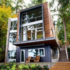 Best shipping container house design ideas 67