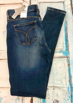 b65c0ebba44 Calvin Klein Jeans Curvy Skinny W27 L32 New With Tags | Clothing, Shoes  &