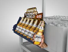 CAMPAÑA SHOPPER MARKETING CERVEZA MODELO on Behance