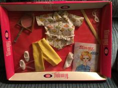 IDEAL TAMMY DOLL CLOTHES SET #9113-2 TENNIS THE MENACE -   NRFB #Ideal