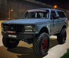 our random crap Ford 4x4, Ford Pickup Trucks, Chevrolet Trucks, 4x4 Trucks, 1957 Chevrolet, Chevrolet Impala, Lifted Trucks, Ford Bronco 1996, Bronco Truck