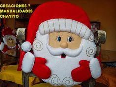 """Creaciones y Manualidades """"Chayito"""": octubre 2013 Christmas Deco, Christmas 2016, Christmas Projects, Christmas And New Year, Christmas Holidays, Xmas, Christmas Ornaments, Crafts To Do, Felt Crafts"""