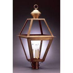 Northeast Lantern Boston 1 Light Lantern Head Finish: Antique Copper, Shade Type: Seedy Marine