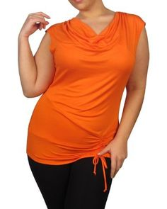 599fashion Plus size short sleeve draped neck top w/gathered front and back lace detail-id.23224a 599fashion. $5.99