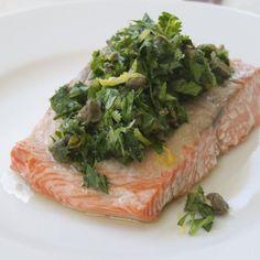 Baked Sockeye Salmon with Gremolata - Healing Family Eats