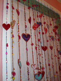 boho hearts