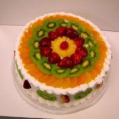 ice cream ice cream cone fruit cake ring fruit cake and ice cream ...