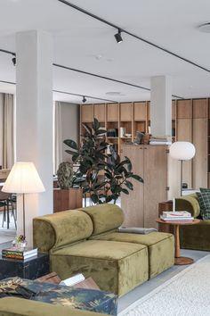 hotel lounge Htel : The Audo Interior Garden, Office Interior Design, Kitchen Interior, Office Designs, Interior Modern, Bathroom Interior, Design Hotel, Modern House Design, Modern Kitchen Design