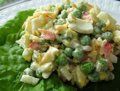 Knott's Pea Salad Recipe