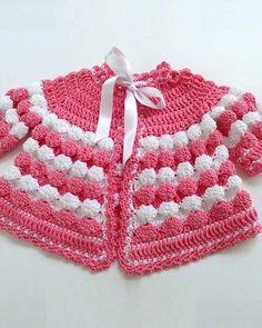Vintage Puff Shell Layette Crochet Pattern