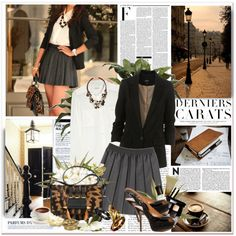 this is a cute outfit for like business or college student :)