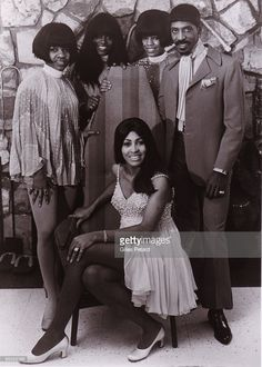 Ike and Tina Turner with the Ikettes 1969