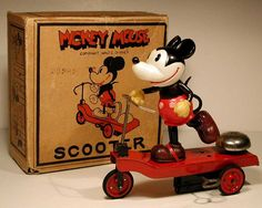 Mickey Mouse Scooter with bell