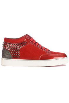 f3e6b5c454d Top Royaums Kilian Scarlet Red (rood) Heren sneakers van het merk royaums .  Uitgevoerd