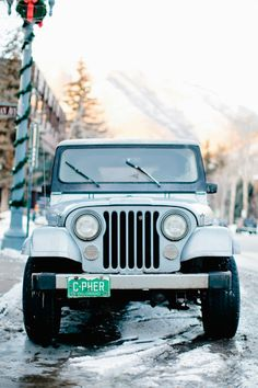 sky, blue, Jeep, Aspen