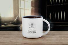 Mug Mockup #coffee #mug #desk #mockup #PSD #office #freelance #workspace #design #