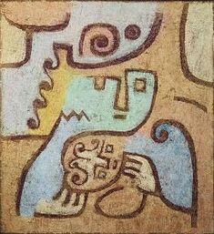 Paul Klee - Mutter mit Kind, 1938.