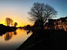 Sunrise in Weesp