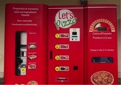 Wonder how much a machine like this costs to produce and run? ... Europe so that you can get an instant Pizza from a vending machine