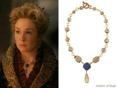 Stephen Dweck Sodalite Clover & Bronze Y Necklace